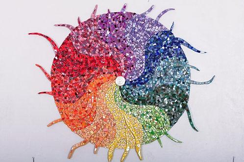 מנדלת גלגל הצבעים