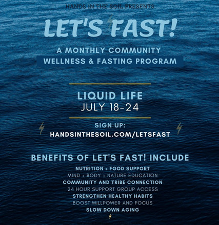 Let's Fast! August