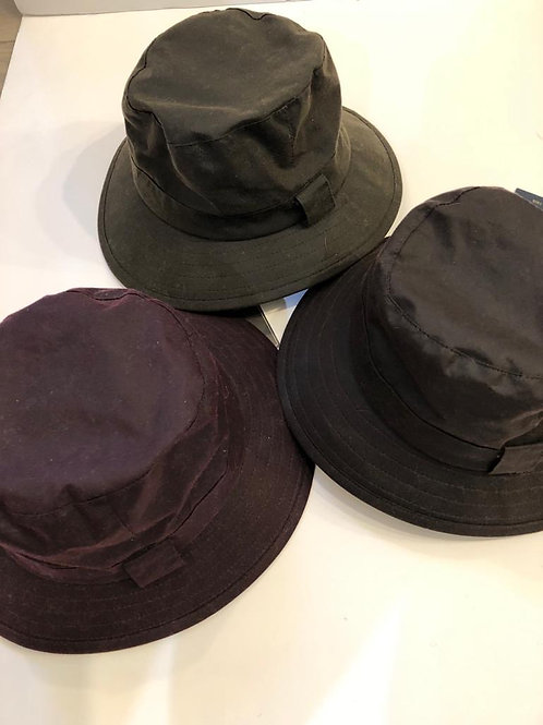 Wax rain hats