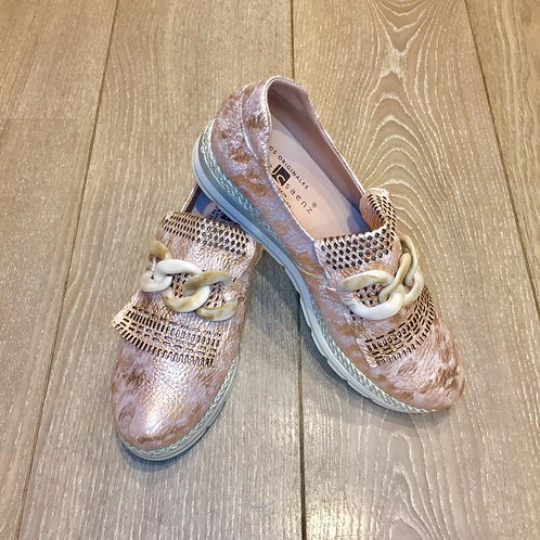 Rose Gold Shoe