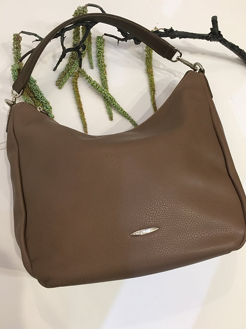 Taupe (non leather ) handbag