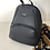 Thumbnail: Navy leather backpack