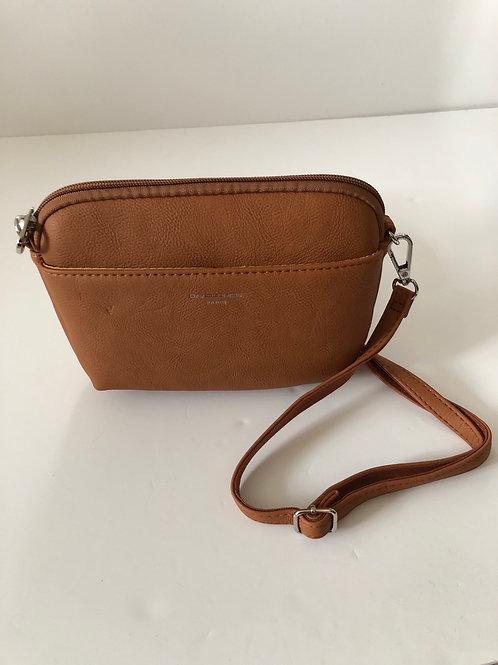 Tan Crossover Bag