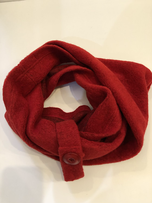 Red Wool Snood