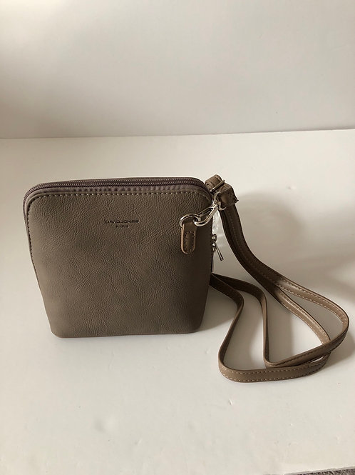 Taupe Crossover Bag