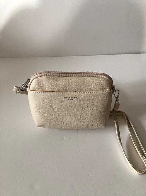 Cream crossover bag