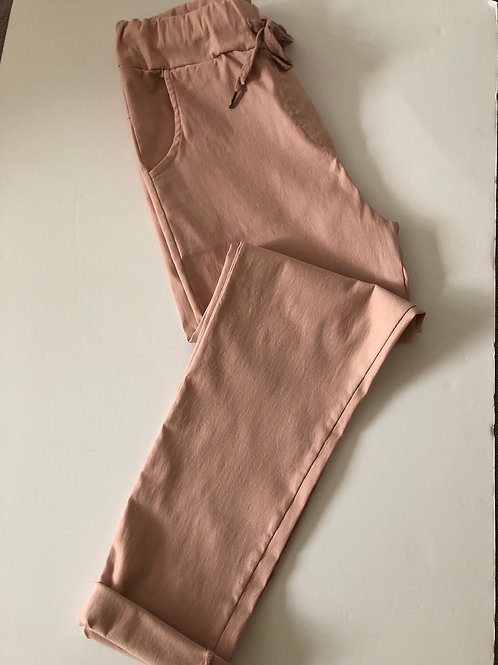 Pink Stretch Jogger- One Size