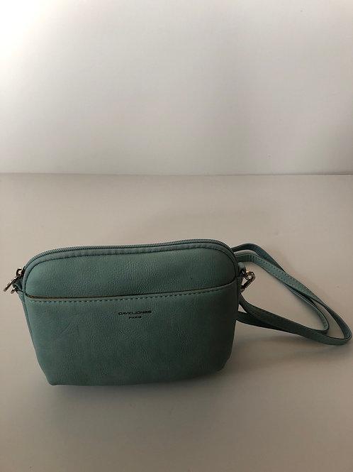 Duck egg Blue Crossover bag