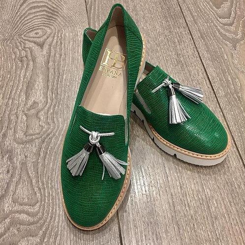Green Shoe Size 38