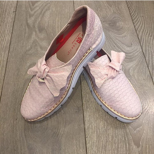 Pink Leather Shoe