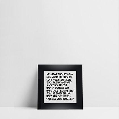 Verliebt euch / Frame XS