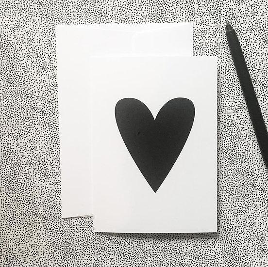 Heart / Klappkarte