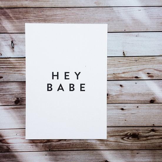 Hey Babe
