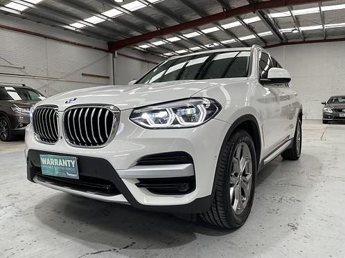 2018 BMW X3 20000kms