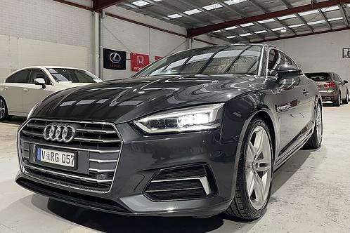 2017 Audi A5 2.0TFSI 21000kms
