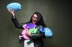 Rayka Kumru with sexual organ toys