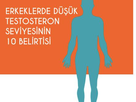 Erkeklerde düşük testosteron seviyesinin 10 belirtisi
