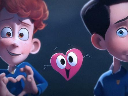Bazı çocuklar hemcinslerinden hoşlanır: In a Heartbeat animasyon filmi yakında bizlerle!