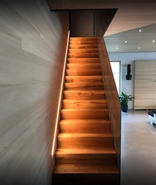 ÖKOLED Beleuchtung Treppe