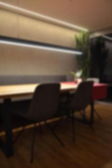 ÖKOLED Esstisch Beleuchtung LED Strip auf Maß konfektioner