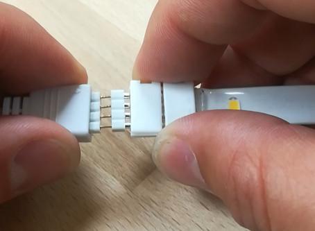 Achtung Brandgefahr! LED Strips -Löten VS Stecken