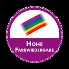 Siegel Hohe Farbwiedergabe.png