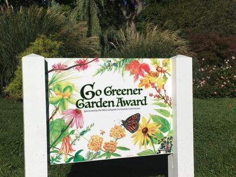 Go Greener Garden Award