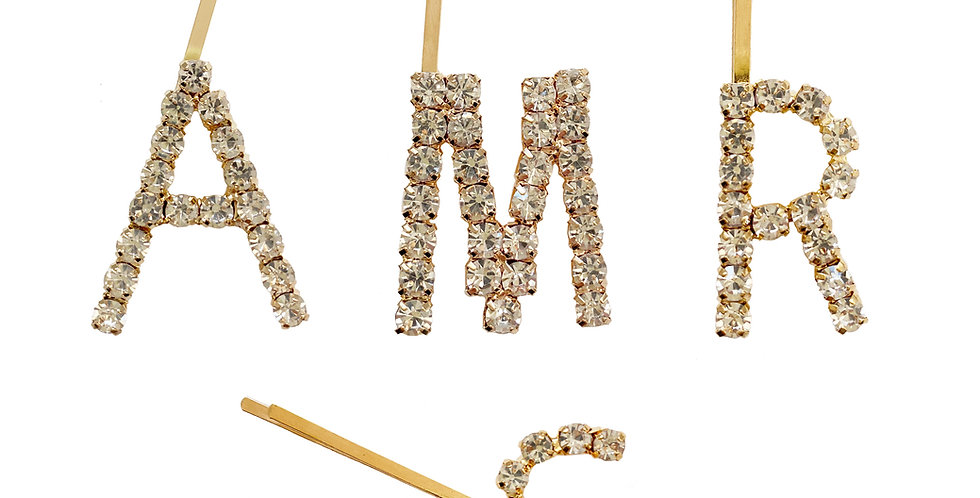 Pin Strass Initial