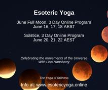 Esoteric Yoga June Full Moon 3 Day Progr