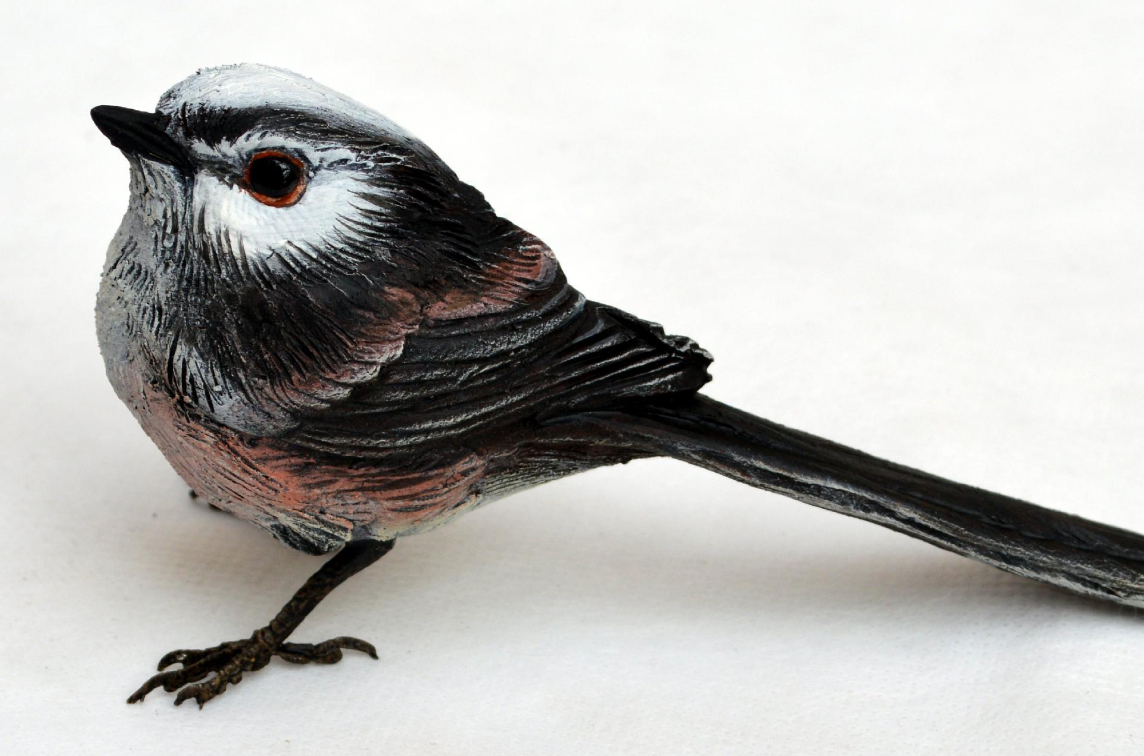 Bird Sculpture - Long Tailed Tit