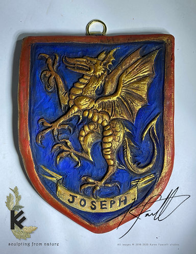 Personalised Heraldic shield