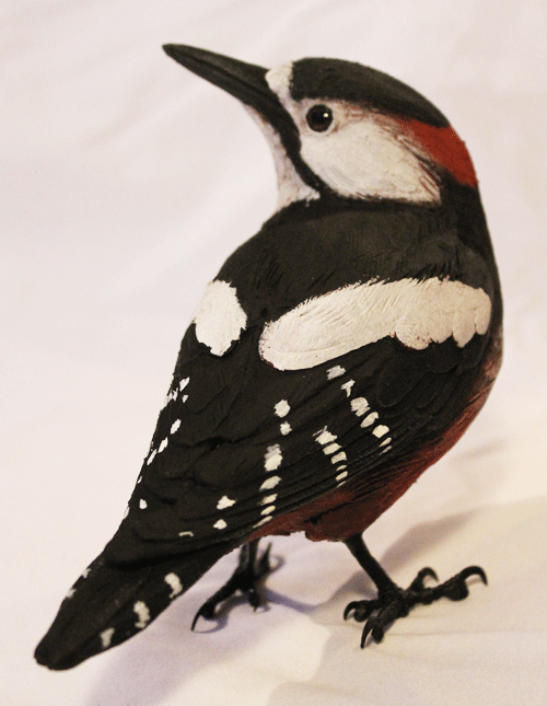 Bird Sculpture - Woodpecker