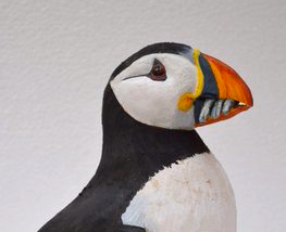 Bird Sculpture - Puffin