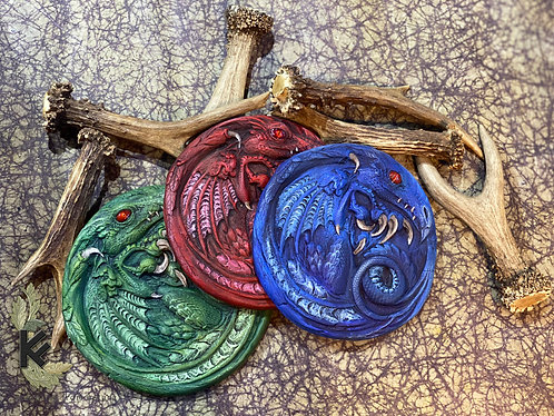 Paint your own dragon rondel