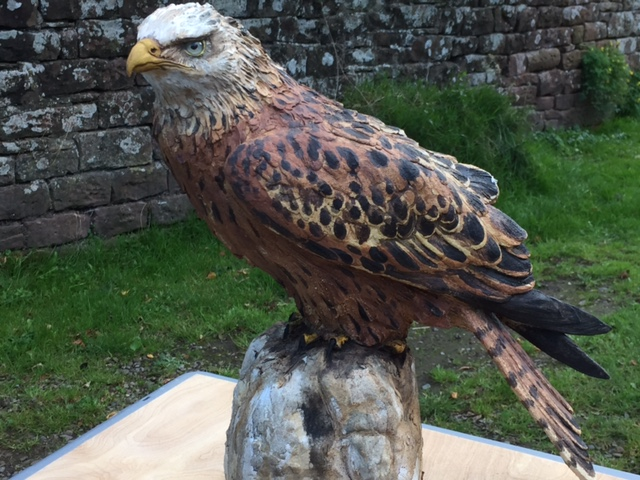 Bird Sculpture - Red Kite