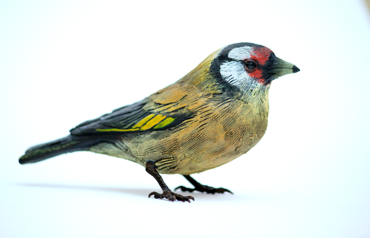 Bird Sculpture - Goldfinch