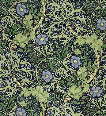 seaweed-wallpaper-design-william-morris.