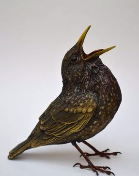 Bird Sculpture - Starling