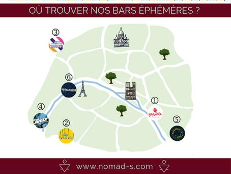 Nomad's vous dévoile les bars éphémères où nous trouver cet été !