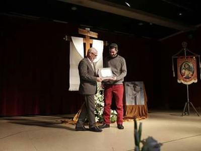 Cartel ganador Alboraya Sede Diocesana 2017