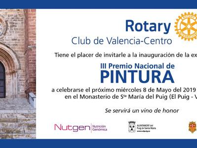 Finalista III Premio Nacional de Pintura Club Rotary Valencia Centro