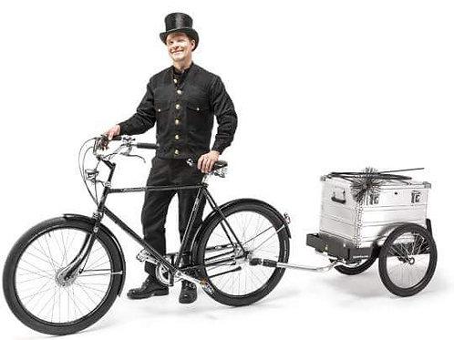 Прицеп велосипедный для ящика Царгес