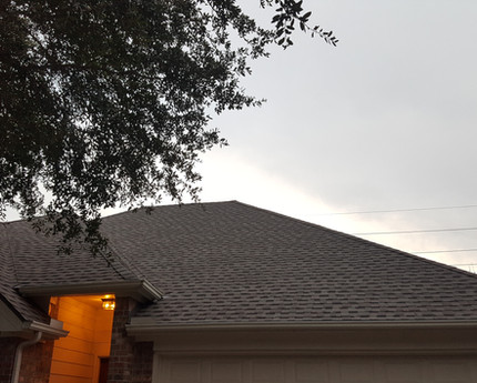 Sugarland Reroof Complete.