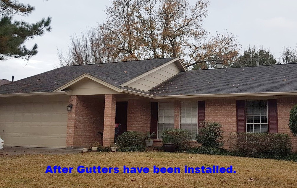 Brand New Gutters