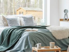 Cómo vestir la cama en invierno paso a paso
