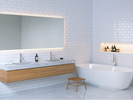 Tipos de lámparas para iluminar el espejo del baño