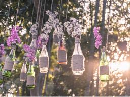 6 Ideas originales para decorar con botellas de cristal