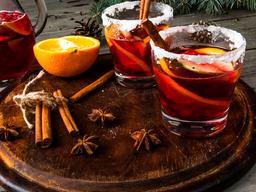 5 recetas de cócteles de Navidad para tus fiestas en casa