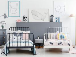 Ideas de decoración para habitaciones compartidas infantiles