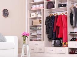 Propósito de año nuevo: ideas para mantener los armarios ordenados